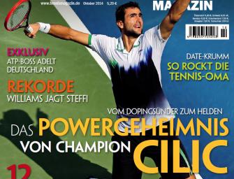 Oktober 2014: Das Powergeheimnis von Champion Cilic