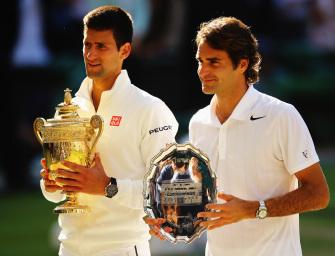 ATP-Finale London: Gigantenduell Federer vs. Djokovic