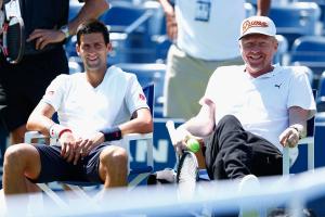 Erfolgreiches Gespann: Novak Djokovic (l.) und Coach Boris Becker