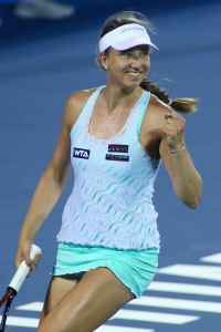 Mona Barthel erreicht das Halbfinale in Luxemburg.