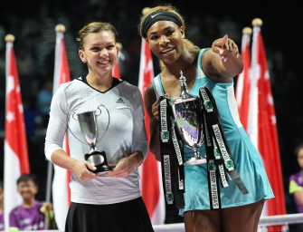 Bildergalerie: WTA-Finals in Singapur