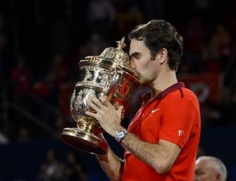 Roger Federer gewinnt in Basel zum sechsten Mal
