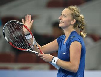 Peking: Kvitova bei Turniersieg die Nummer zwei im Ranking