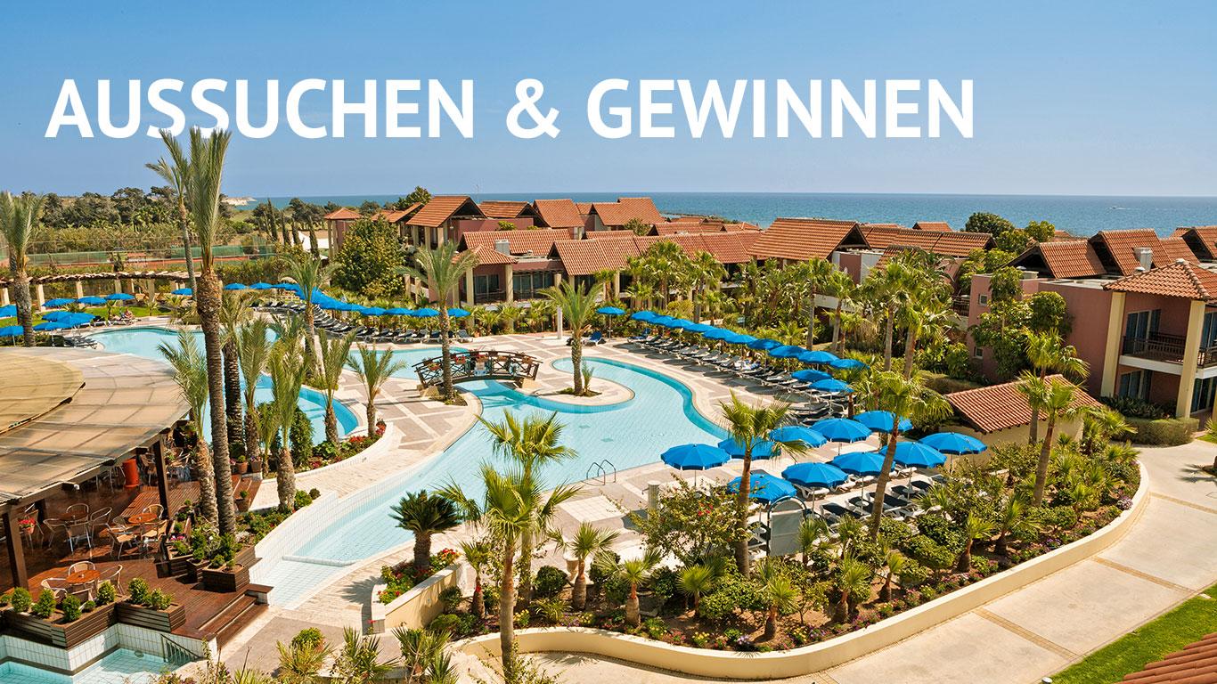 SONNIGE AUSSICHTEN: Ein Urlaub im Aldiana Zypern ist einer von sieben Gewinnspiel-Preisen.