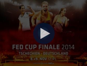 Finale in Prag: Der Fed Cup-Trailer