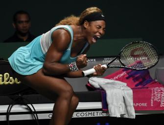 WTA-Finals: Williams schlägt Ivanovic