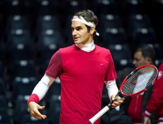Trotz Rückenproblemen: Federer spielt im Davis Cup-Finale
