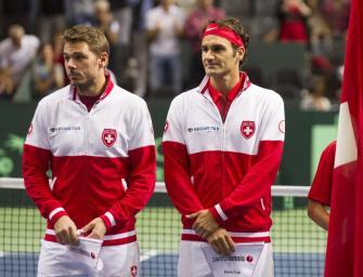 Schweiz im Davis Cup-Finale mit Federer und Wawrinka