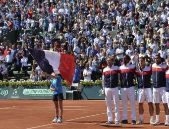 Davis Cup-Finale: Frankreich mit Tsonga und Monfils