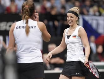 Fed-Cup-Finale: Lisicki / Görges holen einzigen Punkt