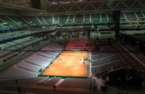 Davis Cup: Finalstadion in Lille