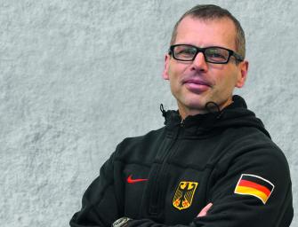 """Konditionstrainer Mike Diehl: """"Die Mädels sind fit"""""""