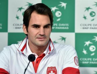 Davis Cup-Finale: Federer wieder auf dem Platz