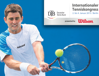 Internationaler Tenniskongress – jetzt noch anmelden