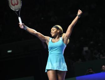"""Serena Williams zum sechsten Mal """"Spielerin des Jahres"""""""