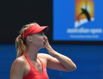 Sharapova nach klarem Sieg im Finale