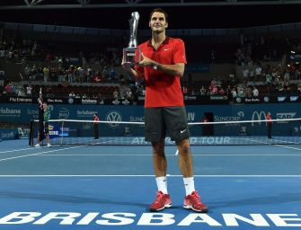 Federer: Titel in Brisbane – 1000. ATP-Sieg!