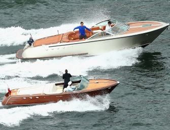 Im Video: Federer & Hewitt spielen Tennis im Boot