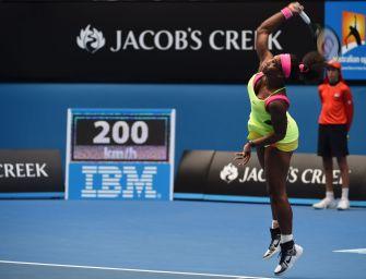 Schlaganalyse: Der Aufschlag von Serena Williams
