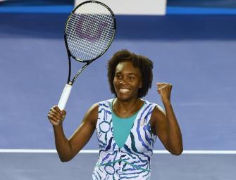 Durststrecke beendet: Venus Williams in Melbourne im Viertelfinale