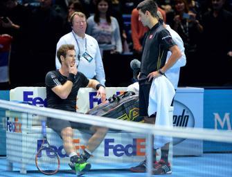 Abu Dhabi: Murray gewinnt kampflos gegen fiebrigen Djokovic