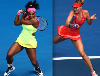 Match des Tages am Samstag: Williams vs. Sharapova