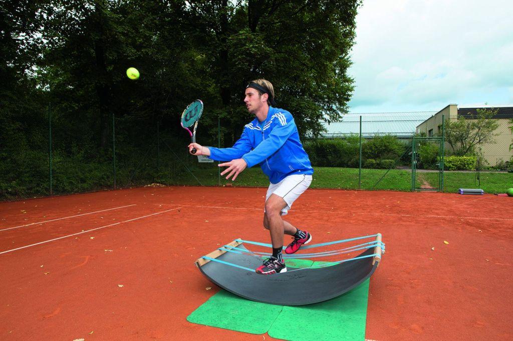 Beinarbeit für Tennisspieler