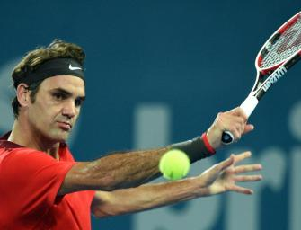 Federer müht sich zum ersten Sieg im Jahr 2015