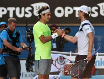 Video: Seppi wirft Federer raus!