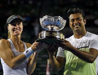 Australian Open: Hingis und Paes holen Mixed-Titel