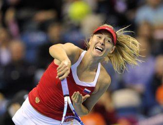Fed Cup-Halbfinale: Sharapova wohl nicht dabei