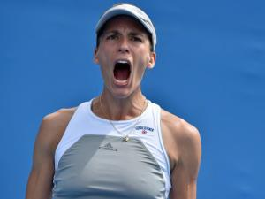 Raus wie Lisicki: Nach ihrem Turniersieg in Antwerpen war Andrea Petkovic ausgepowert