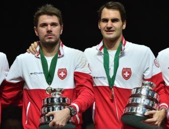 Davis Cup: Schweiz ohne Federer und Wawrinka