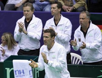 """Kühnen zur neuen Davis Cup-Führung: """"Sehr viel Erfahrung"""""""