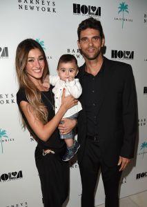 Familienglück: Mark Philippoussis mit Ehefrau Silvana Lovin und Sohn Nicholas (8 Monate alt)