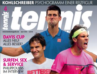 tennis MAGAZIN Heft 4/2015: Mr.Perfect – Jury wählt das Beste der Besten