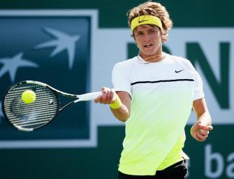 Zverev erstmals im Hauptfeld eines ATP-Masters