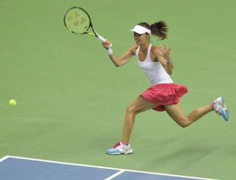 Fed-Cup: Hingis kassiert Klatsche bei Comeback