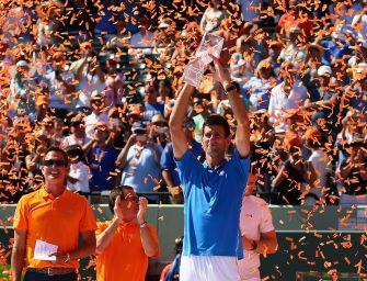 Miami: Djokovic siegt und schreibt Geschichte