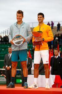 Monte Carlo: Djokovic triumphiert über Tomas Berdych