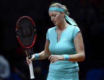 Stuttgart: Überraschendes Aus für Wimbledonsiegerin Kvitova