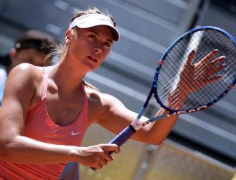 Madrid: Sharapova kämpft sich ins Viertelfinale