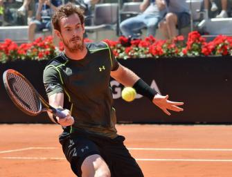 Rom: Murray setzt Siegesserie auf Sand fort