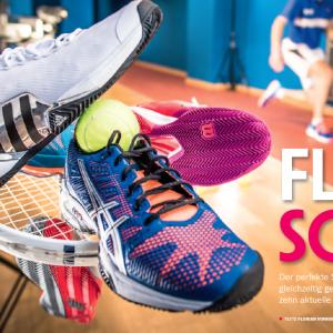 Tennis-Schuhtest 2015