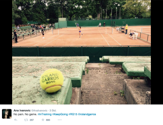 Bonjour, Roland Garros: Die Tweets aus Paris