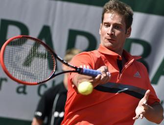 Florian Mayer im Viertelfinale von Halle
