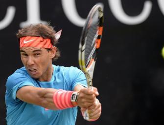 Nadal stolpert sich ins Viertelfinale