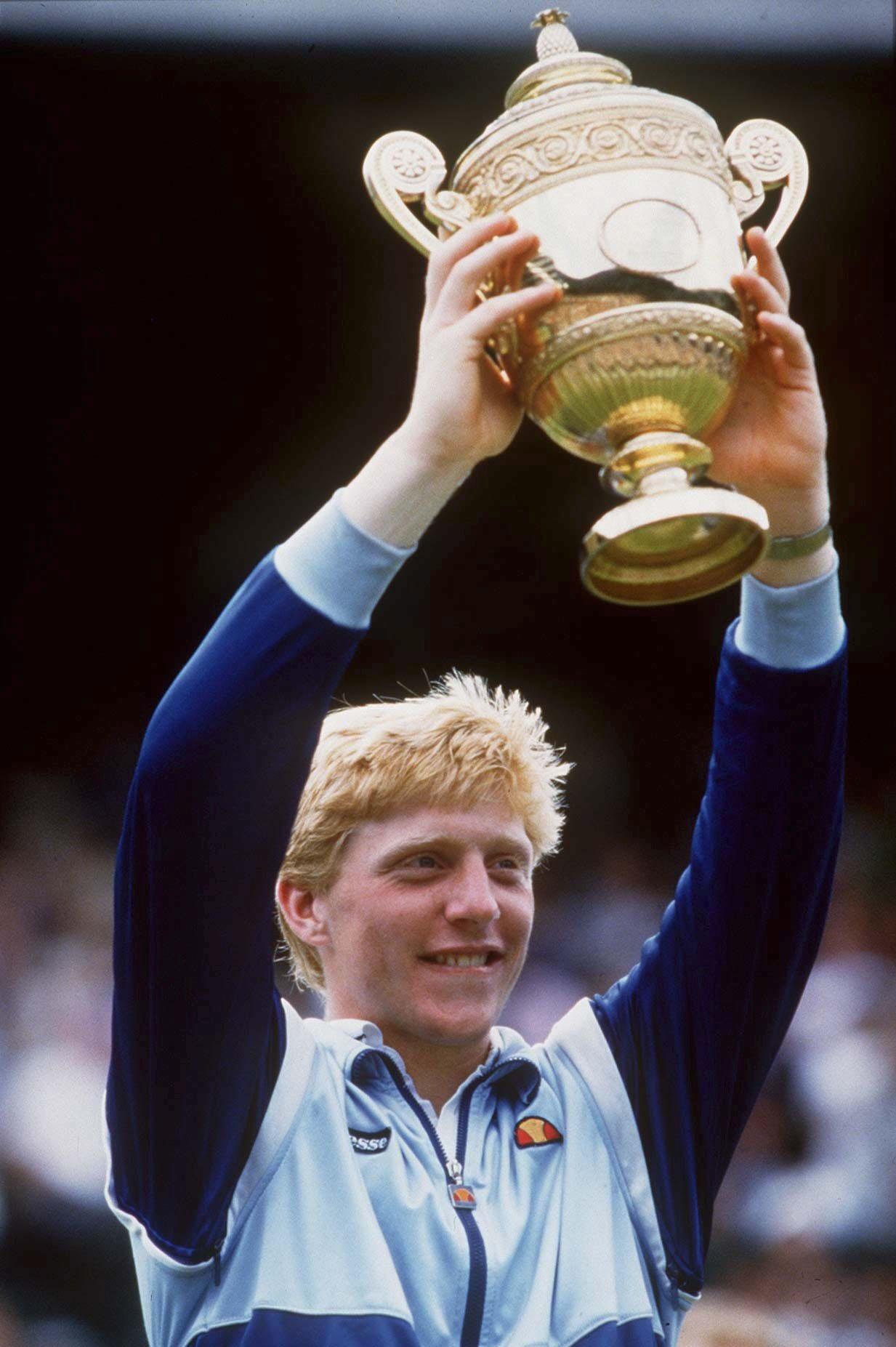 Boris Becker Wimbledon Siege