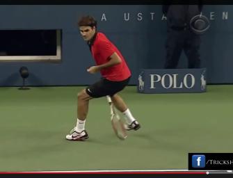 Video: Die coolsten Tennis-Trickshots der Profis