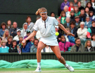 Steffi Graf in Wimbledon: Prinzessin auf dem Rasen